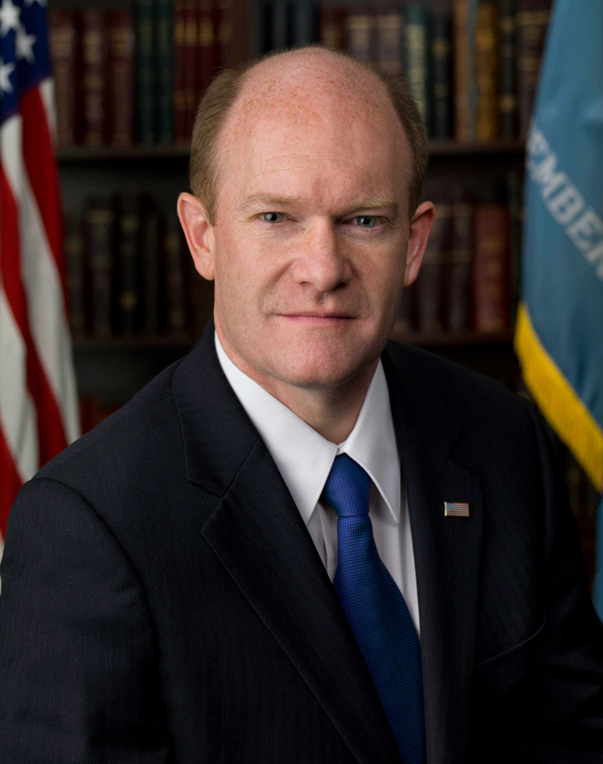 Image result for Senator Chris Coons