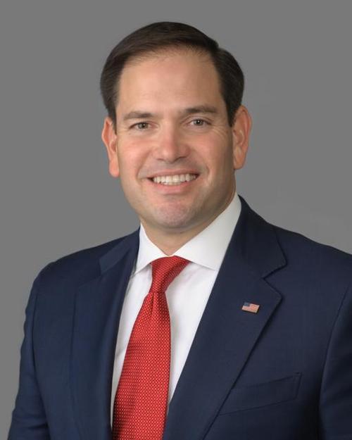 Marco Rubio Portrait