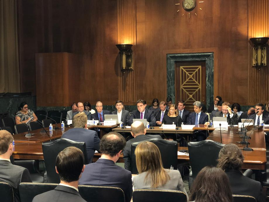 2018-07-26 Sen. Coons at the Privacy, Technology, and the Law Subcommittee roundtable