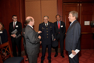 The caucus kicked off its work with a briefing from, among others, Philadelphia Police Chief Charles Ramsay in October 2011.